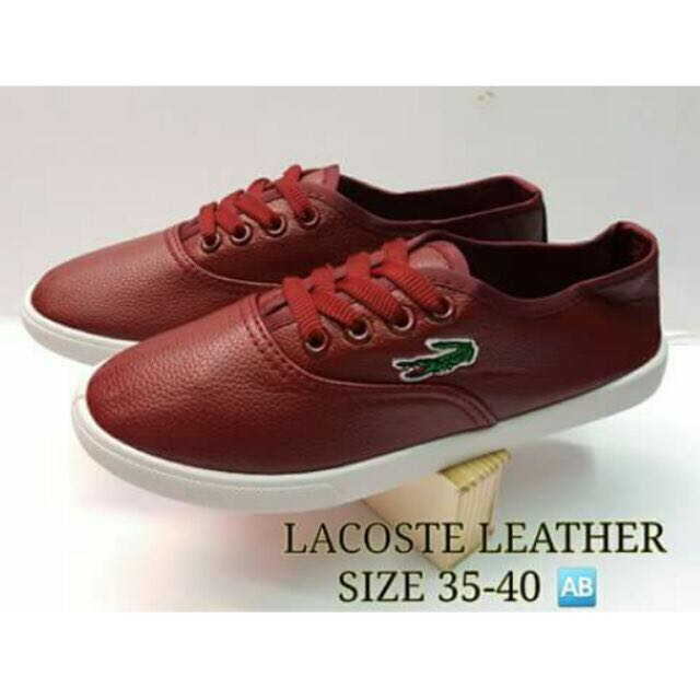 Lacoste Leather