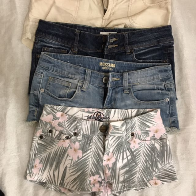 Low Waisted Shorts