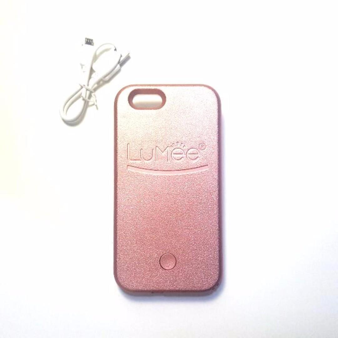 LUMEE IPhone 6s Gold Rose [PRICE DROP]