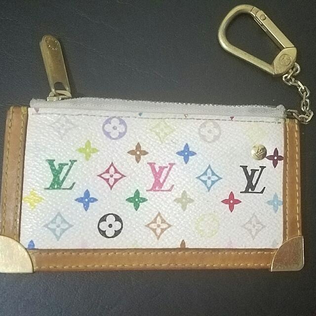 Lv Multicolor Cles Coin purse