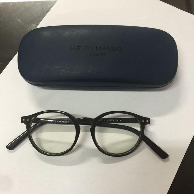 Mango Semi Round Glasses