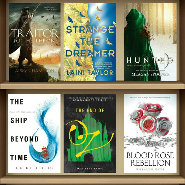 March 2017 YA Ebooks