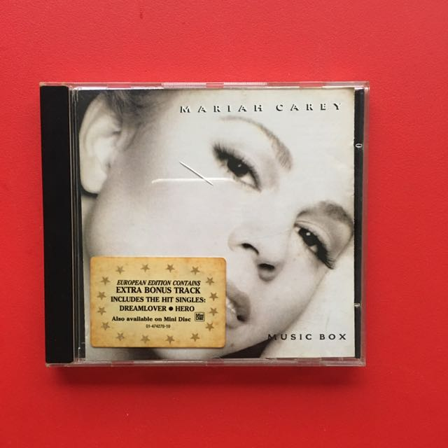 Mariah Carey Original Music CD