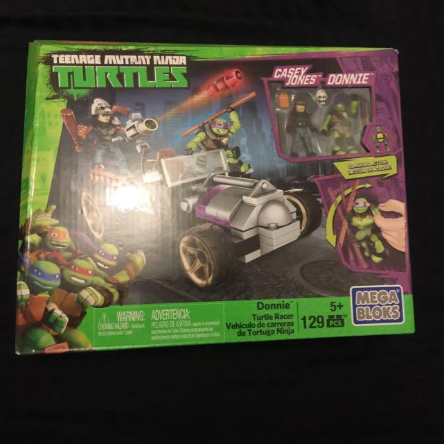 Mega Bloks Teenage Mutant Ninja Turtles - Casey Jones And Donnie