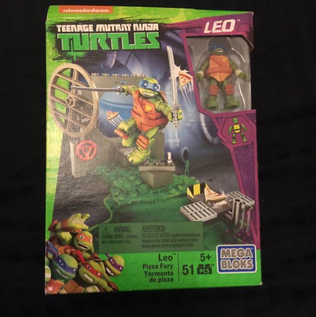 Mega Bloks Teenage Mutant Ninja Turtles - Leo