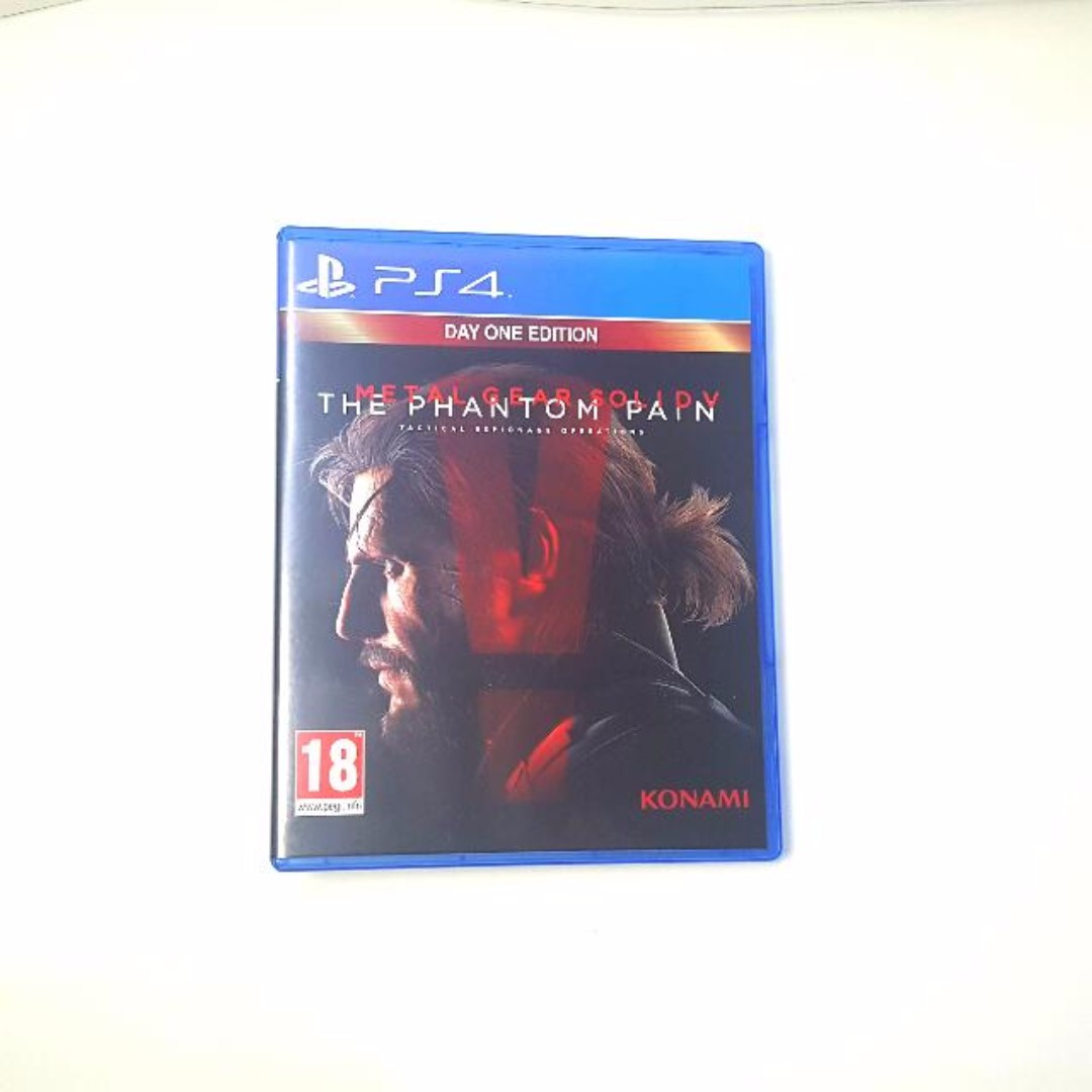 Metal Gear Solid 5 - The Phantom Pain DAY ONE EDITION [PRICE DROP]