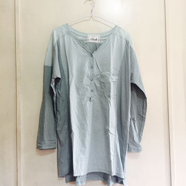 Mint Green Pull Over