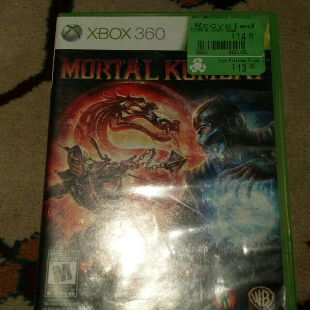 Mortal Kombat For Xbox 360