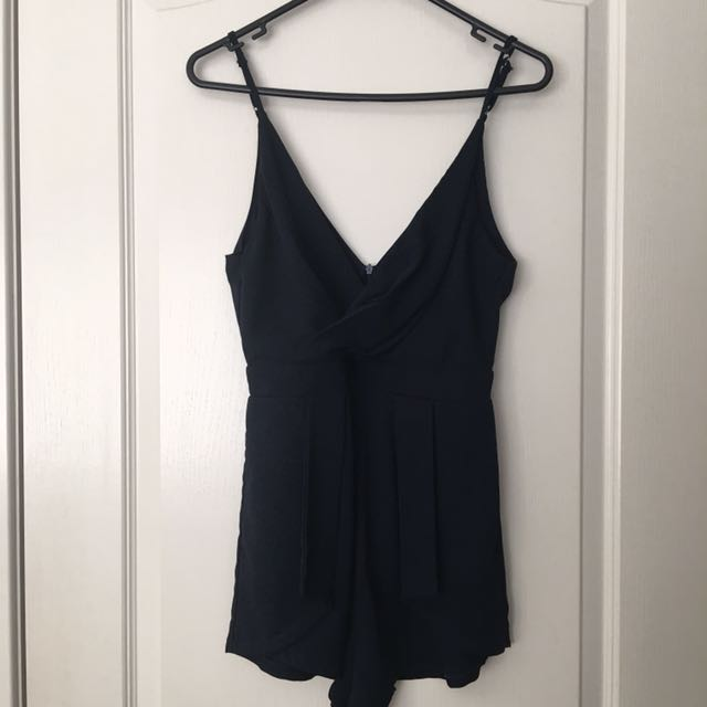 Navy Playsuit