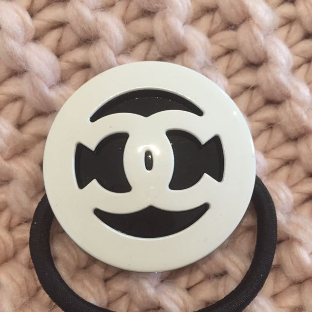 New Chanel Hair Tie