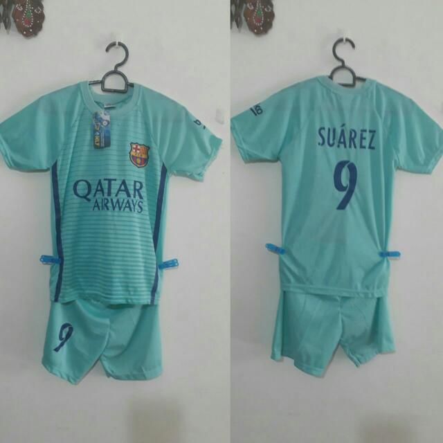 best service 855d6 f55ba New Kids Jersey, Barcelona Away Jersey, Fit for 7-8yrs, Limited Stock, Meet  Up Marsiling Mrt, Postage $1.50