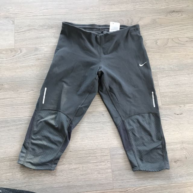 Nike Grey Workout Capris