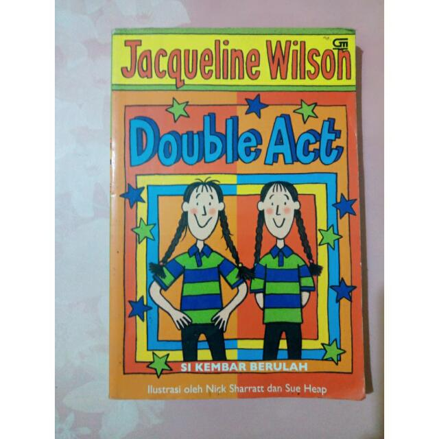 "Novel Terjemahan ""Double Act"""