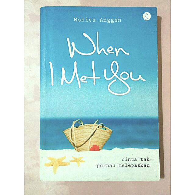 "Novel ""When I Met You"""