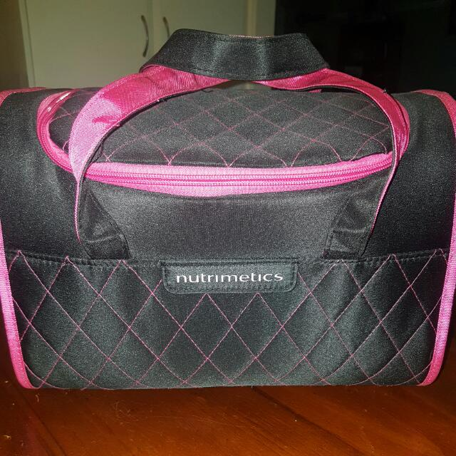 Nutrimetics Cosmetics Storage Bag