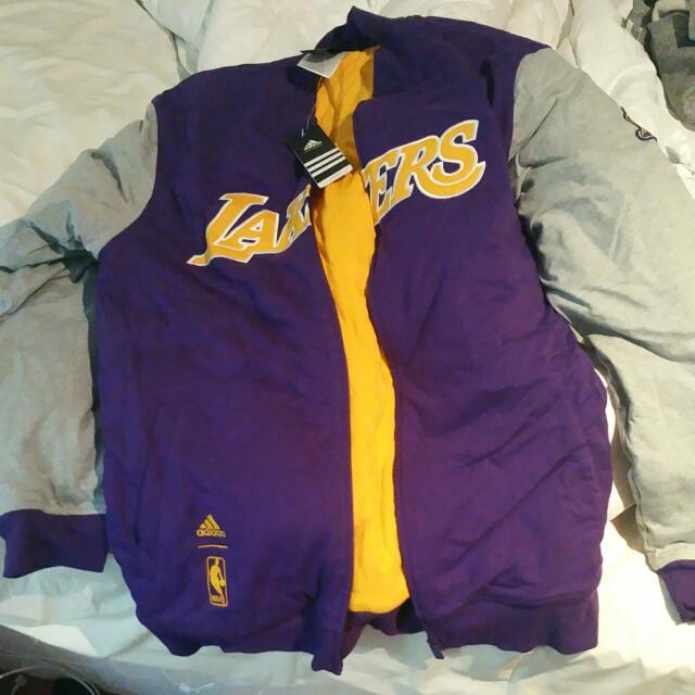 Official Lakers Jacket Size M