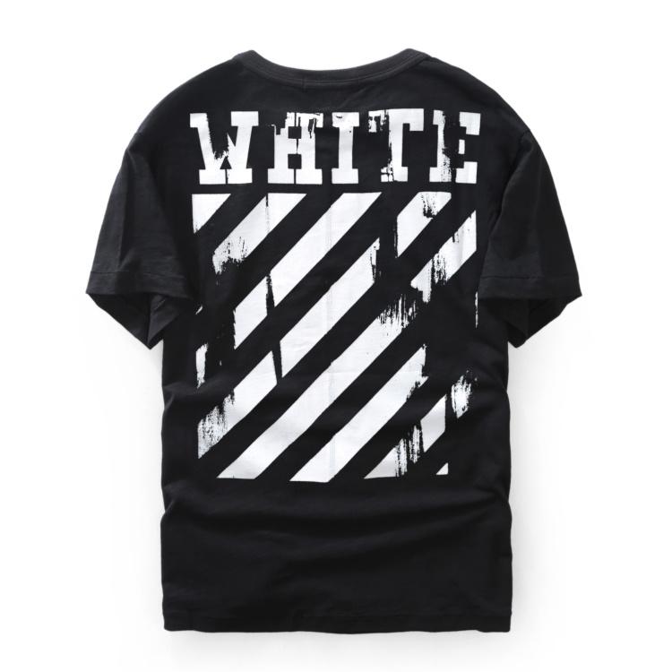 b07b7f0d7 Carousell의 OFFWHITE Fallen Angel Short-Sleeve Shirt (White/Black), Men's  Fashion, Clothes