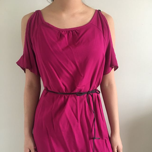 Open-shoulder Dress (Forever 21, Size Small)