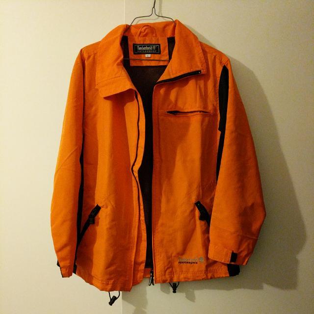 Orange Waterproof Jacket