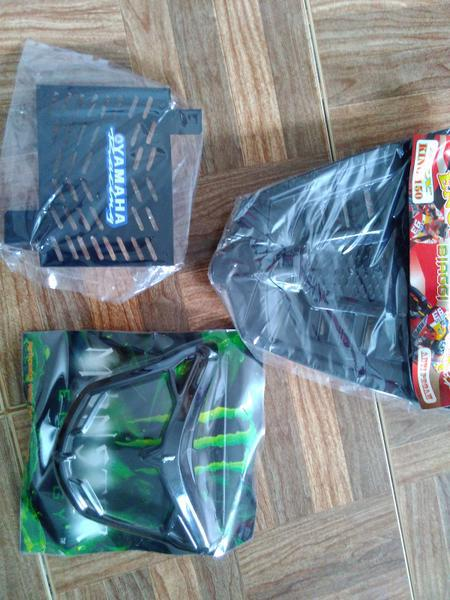 Paket Aksesoris Mx King, Cover Mesin, Cover Radiator, List Lampu,, Auto Accessories on Carousell