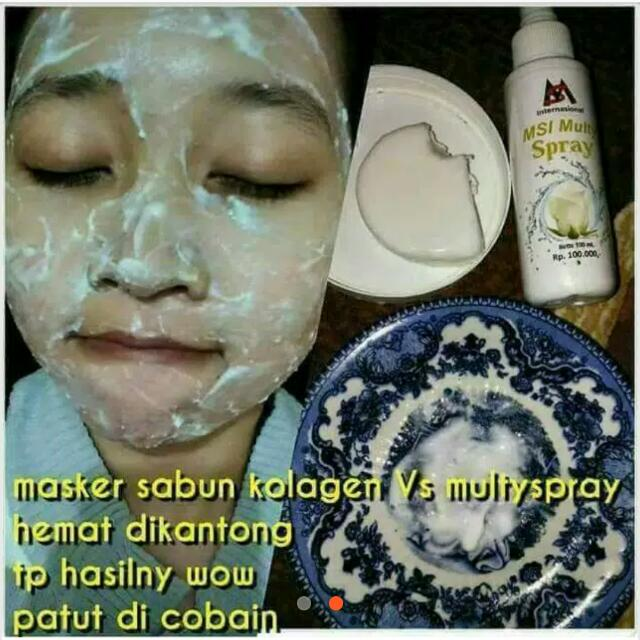 Paket MSI Multyspray+Collagen Soap