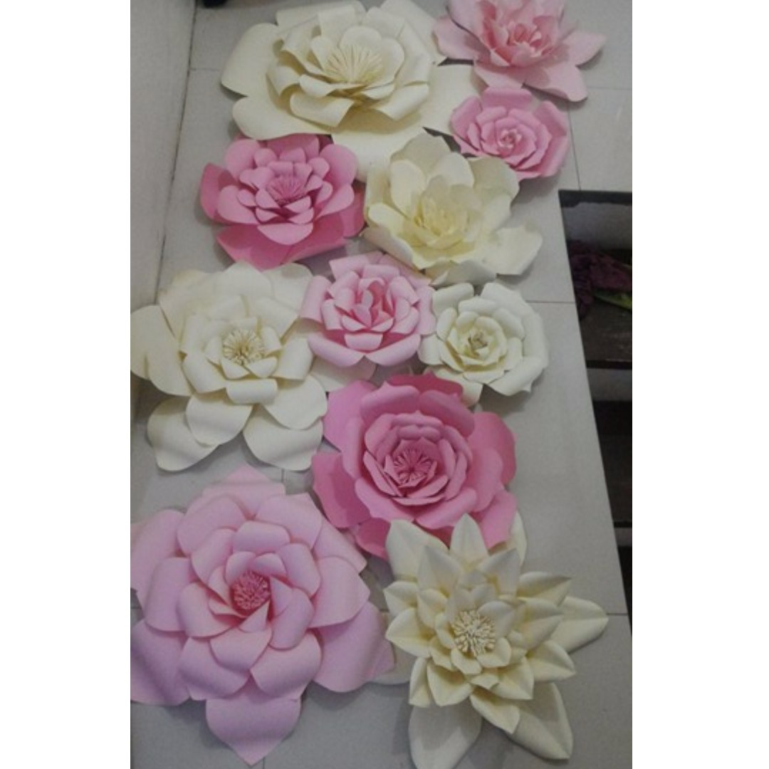Paper Flowers For Backdropevent Designs Design Craft Handmade