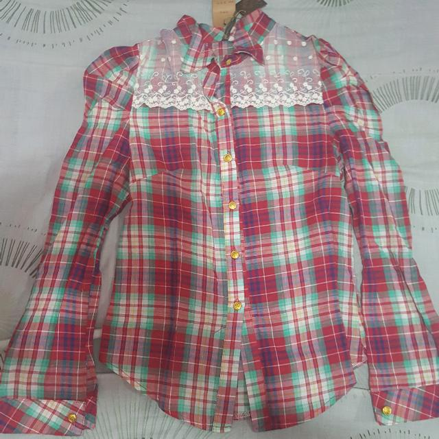 Plaid/Flannel Top