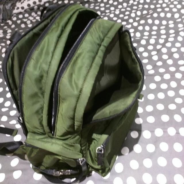 9a8ab435a597 Prada Backpack Serve As Diaper Bag, Laptop Bag, Babies & Kids on Carousell
