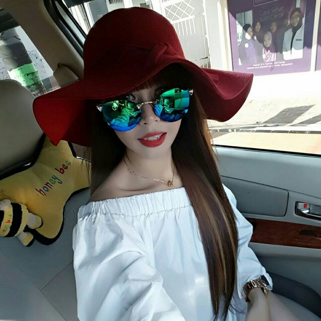 PROMO  Floppy Hat Topi Pantai Wool  Import  Best Quality  Murah ... 7976810572