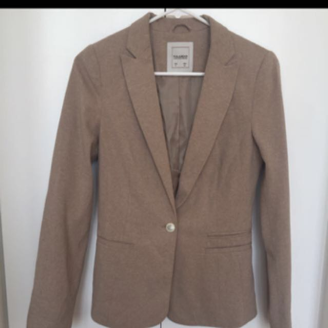 Pull N Bear Tan Blazer