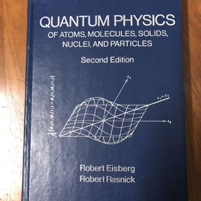 Quantum Mechanics Eisberg Resnick Pdf
