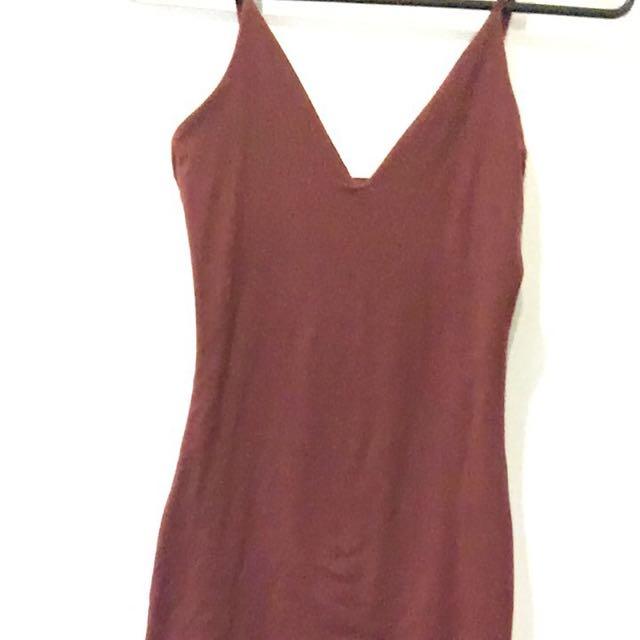 Red/marroon Dress
