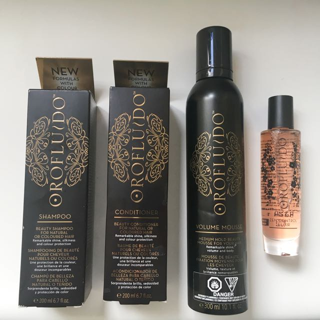 Revlon Professional Salon shampoo, Conditioner, Mousse & Hair Elixir