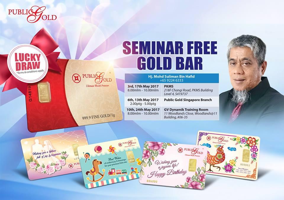 Seminar FREE Gold Bar