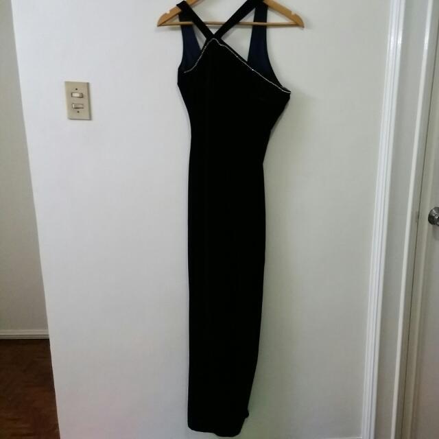 Sexy Velvet Formal Dress