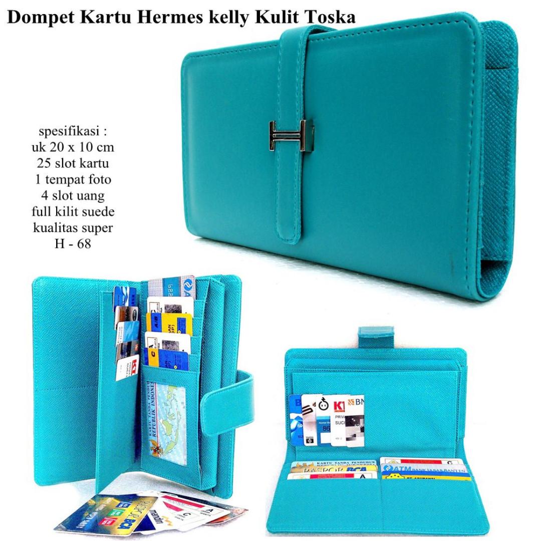 SHOPPING CARD ORGANIZER (SCO) DOMPET HERMES KELLY CARD SOFT TOZKA ... 92a2f1b42a