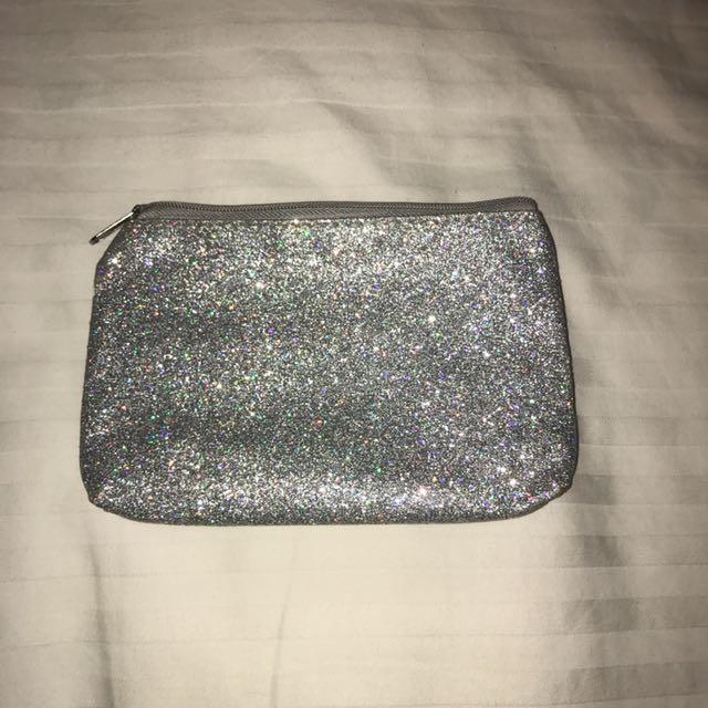 Silver Sparkle Bag