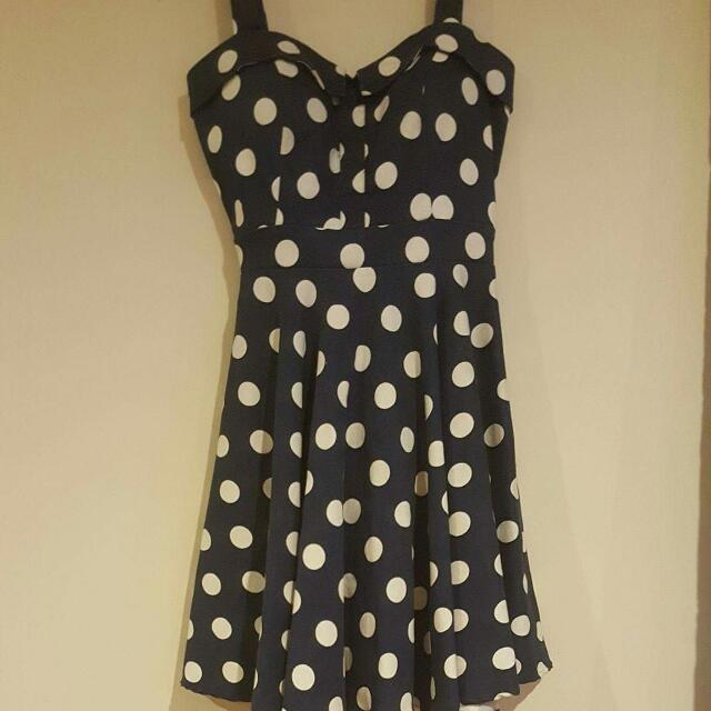 Spotted 50's Dress
