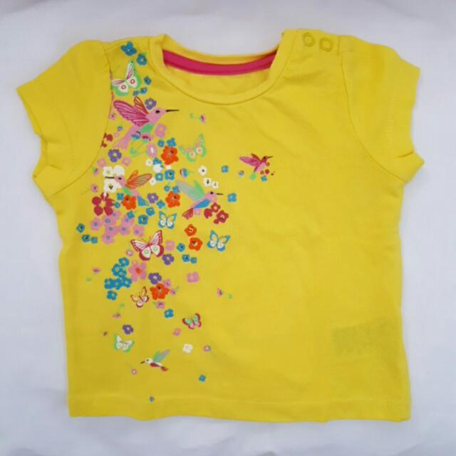 Summer tshirt for baby girl