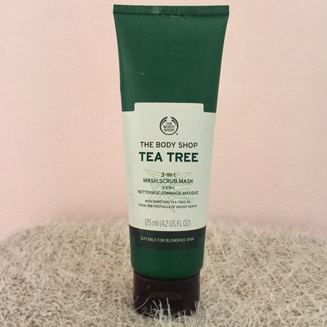The Body Shop Tea Tree 3 In 1 Wash-Scrub-Mask