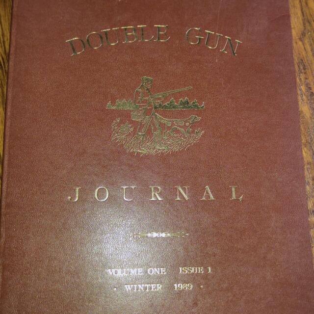 The Double Gun Journal Volume 1 & 4