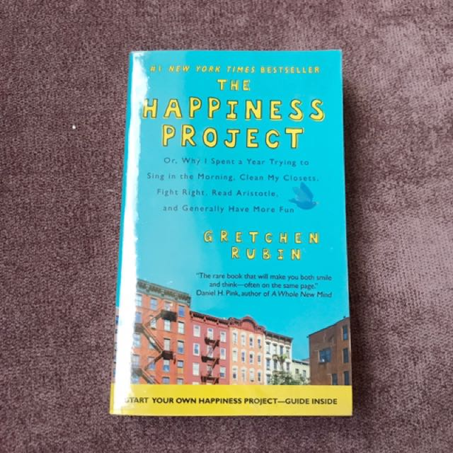 The Happiness Project (Gretchen Rubin, 2009)