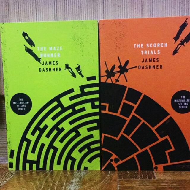 The Maze Runner And The Scorch Trials By James Dashner Books
