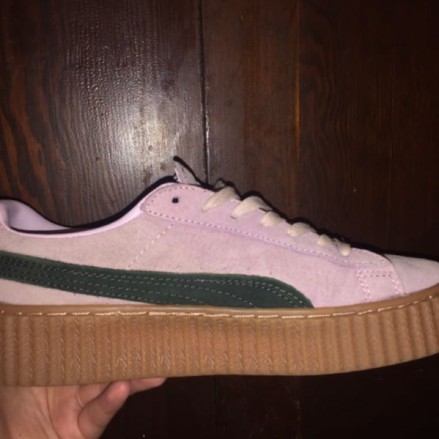#thecafe Fenty Creepers
