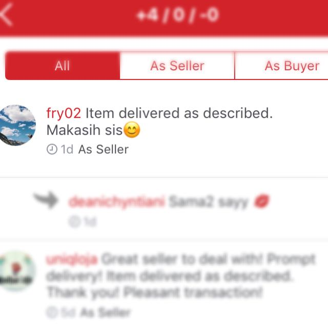 Trusted Seller ❤️