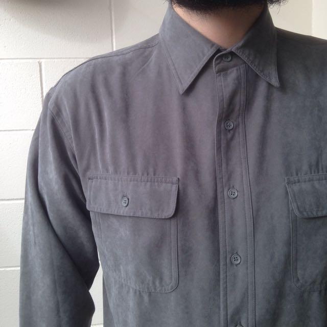 Vintage Suede Grey Short