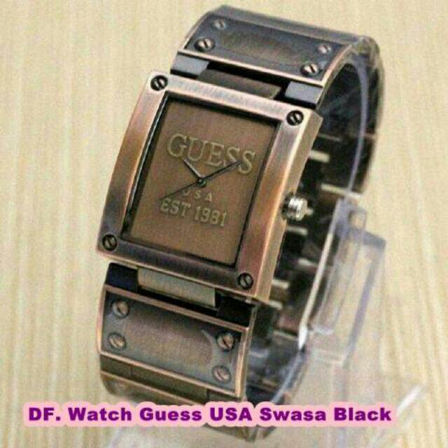 Watch Guess USA Swasa Black