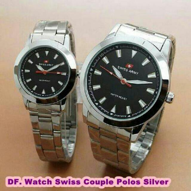 Watch Swiss Couple Polos Silver