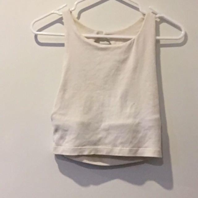 White Kookai Top Size 2