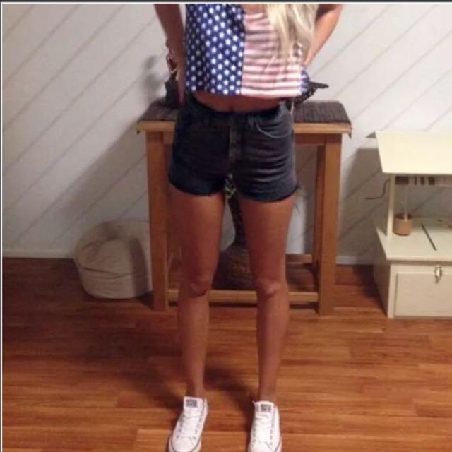 Wrangler Vintage Cut Off Shorts
